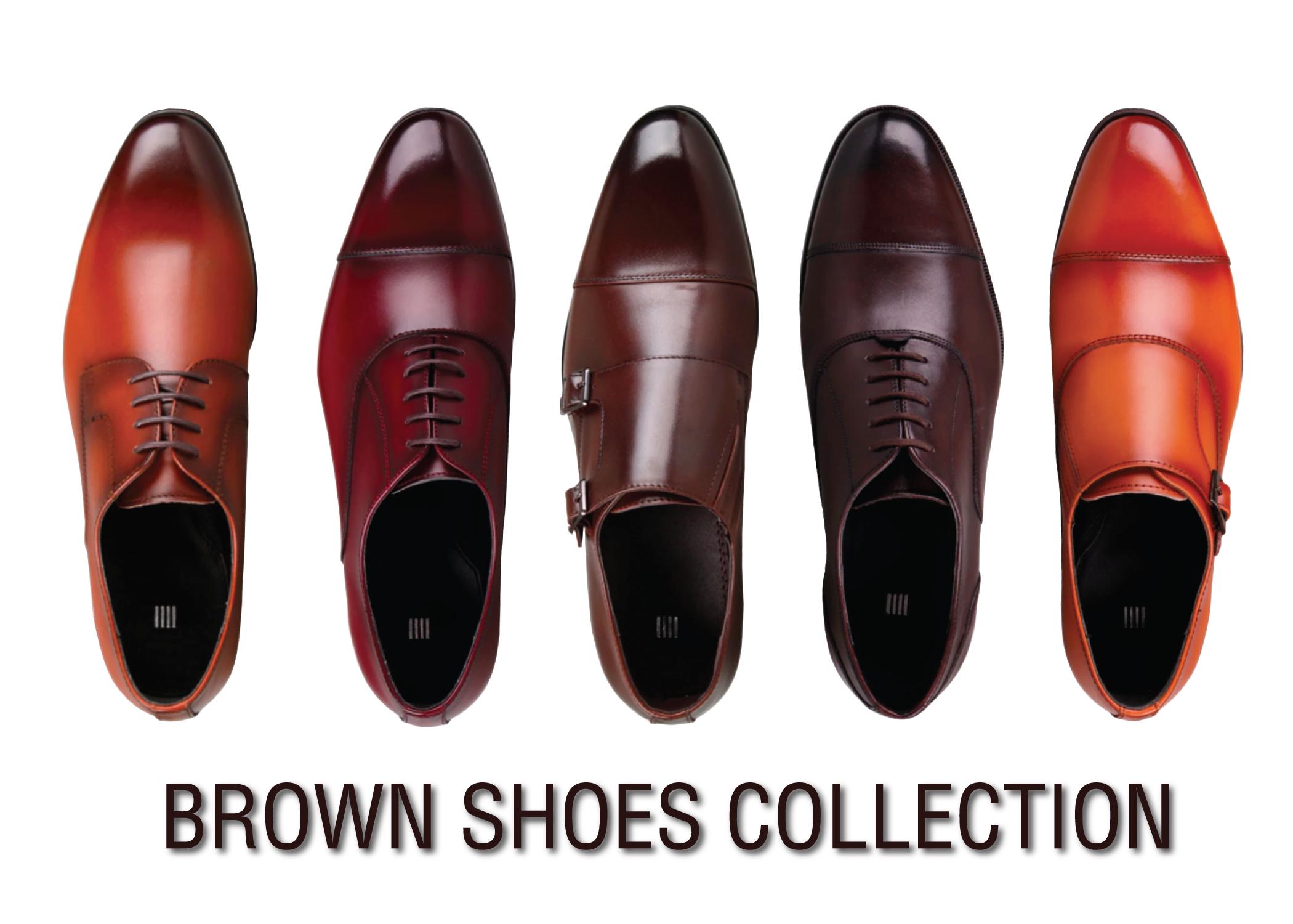 Brown Shoes Collection ทำความรู้จักกับรองเท้าสีน้ำตาลรุ่นต่างๆของ SUIT SELECT